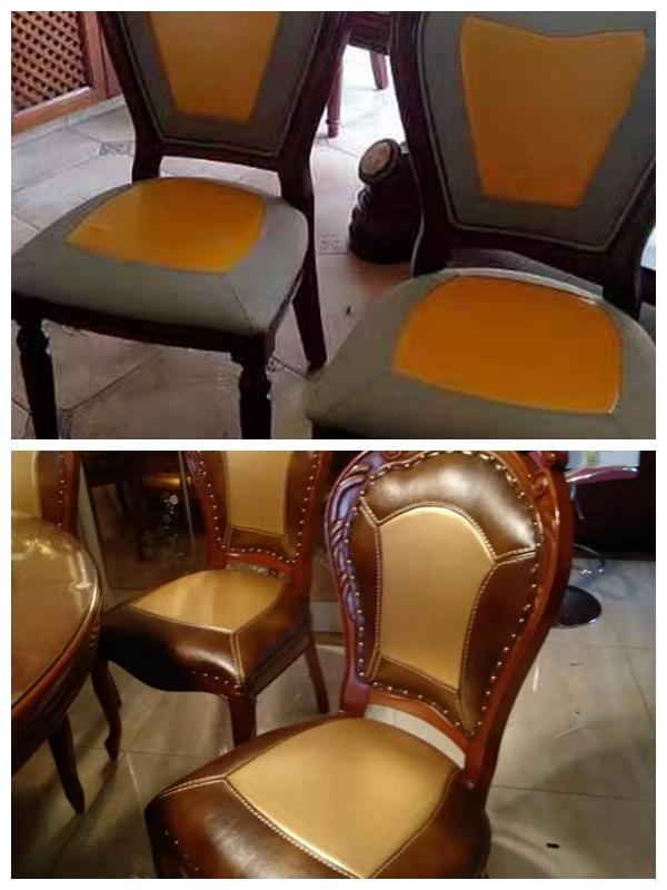 凳子翻新前后